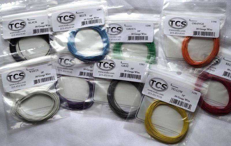 30 gauge 9  colour wire 10ft 33m pack