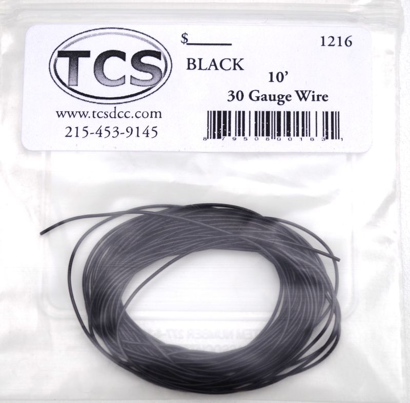 Black 30 awg colour wire 10ft 33m