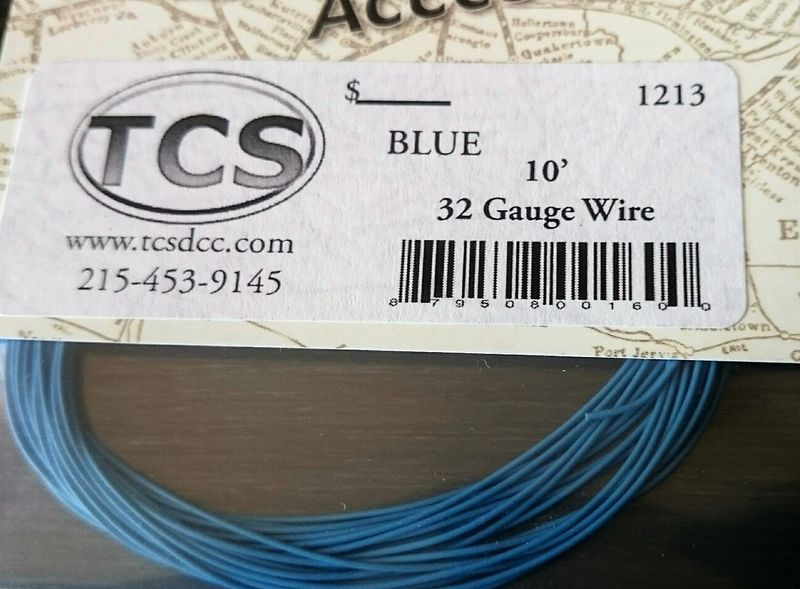 Blue  32 awg colour wire 10ft 33m