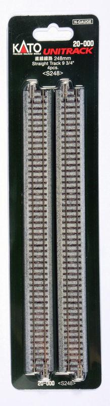 N 248mm Straight Track 4 piece