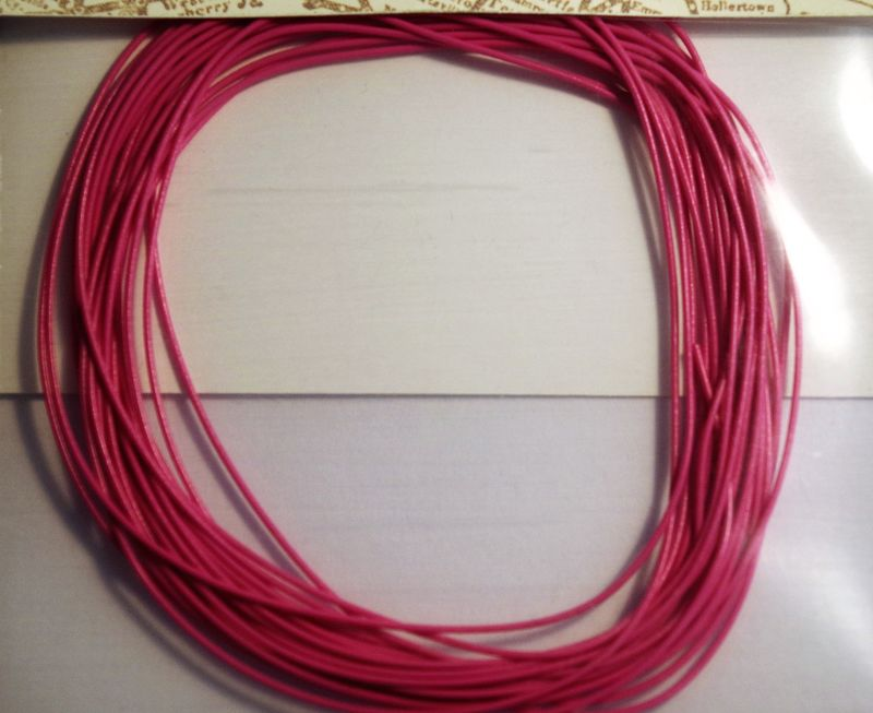 Pink 30 awg colour wire 10ft 33m