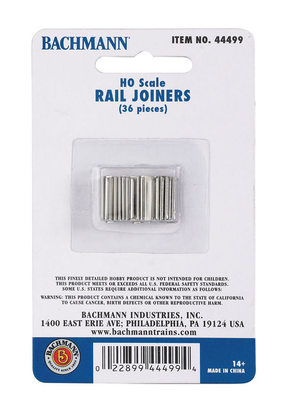 Rail joiners 36 piece