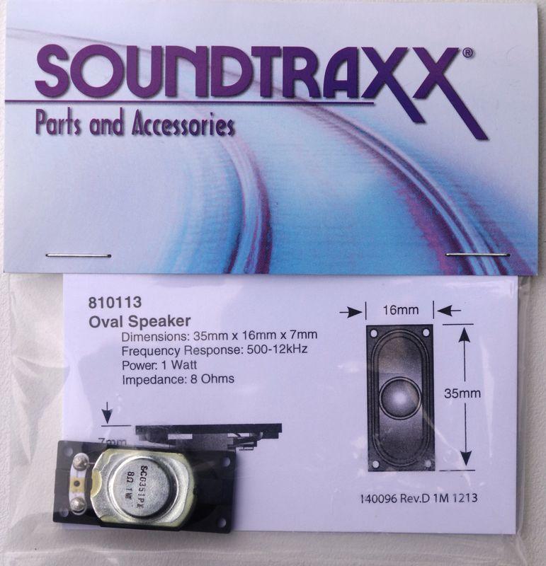 STX 810113 36 mm x 16mm Oval Speaker 1
