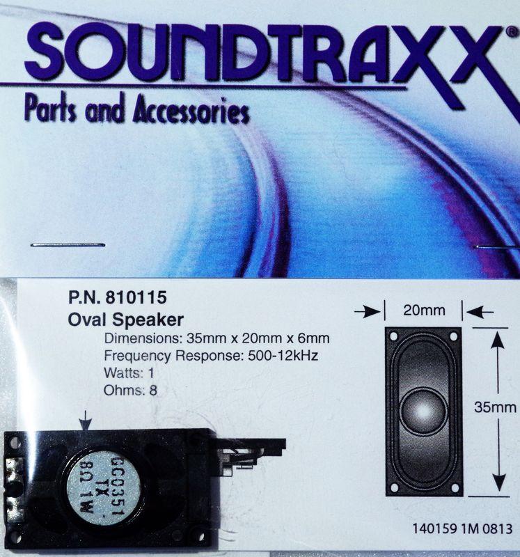 STX 810115 35mm x 20mm oval speaker 1