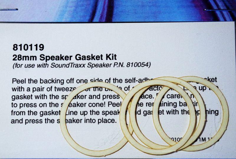 STX 810119 Gasket kit speaker 28mm Pkg of 4 2