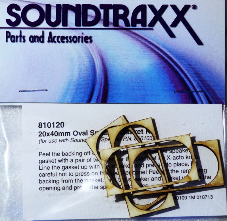 STX 810120 Gasket kit speaker 40 x 20mm Pkg of 4 1