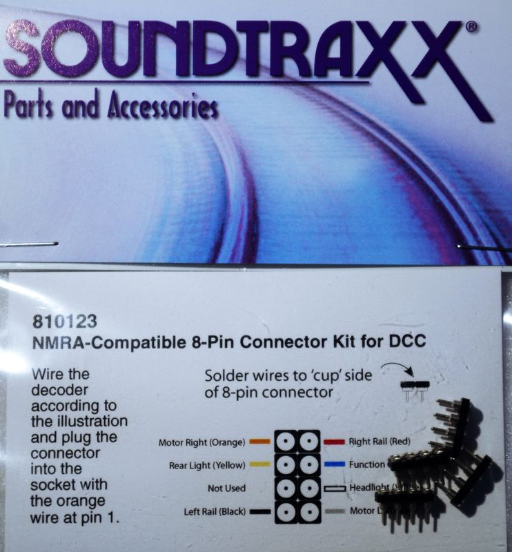 STX 810123 8 pin connector set of 41