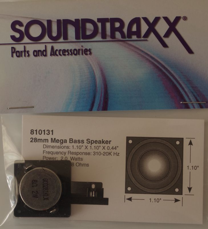 STX 810131  28mm square x 112mm speaker 1