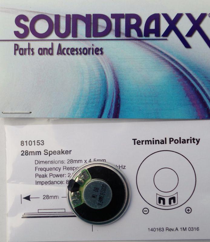 STX 810153 28mm round speaker 2 watt 8 ohm