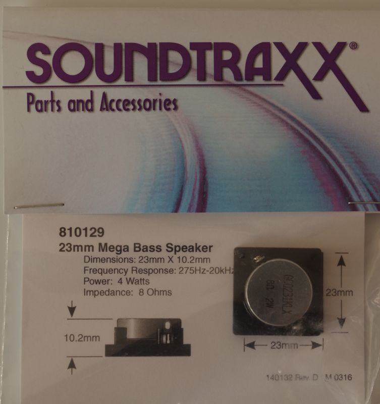 STX  Mega Base Speaker 23mm x 102mm