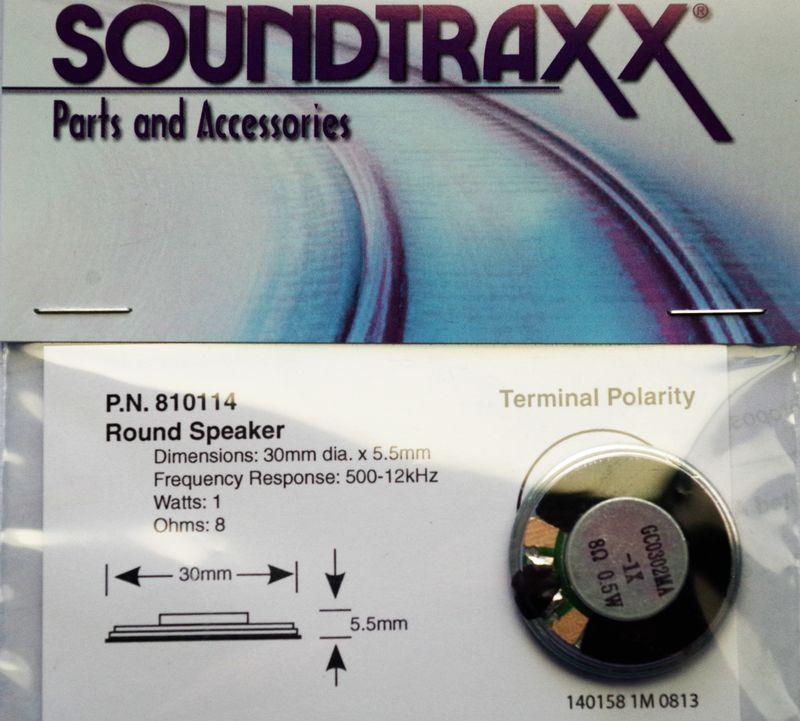 Speaker Round 8 ohm speaker  30mm 12+39