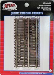 Atlas HO C83  Assortment Straight Track