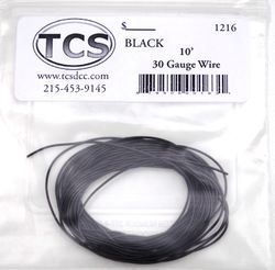 Black 30awg colour wire 10ft (3.3m)