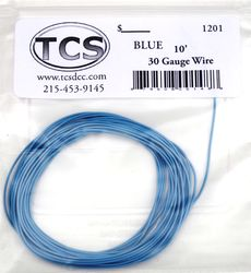 Blue 30awg colour wire 10ft (3.3m)