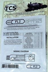 FL2 Fleet lighter 2 function only decoder