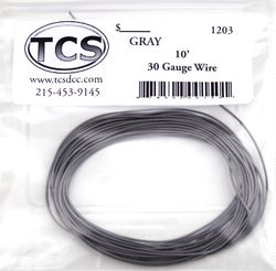 Gray 30awg colour wire 10ft (3.3m)
