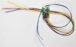 M1-KA Micro 2 function decoder with Keep Alive wires.