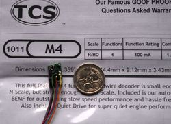 M4 Micro 4 function decoder