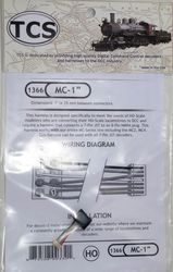 MC-1' is a 1' or 25 mm harness with a 8 pin NMRA plug for the MC Serie