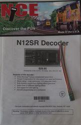 NCE N-12SR generic N Decoder 2 Function