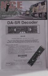 NCE DA-SR HO Decoder hardwire