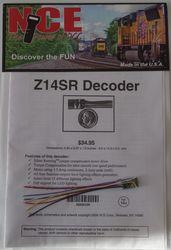 NCE Z 14SR N or Z Generic Decoder