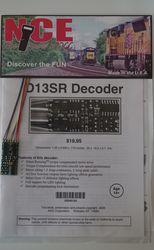 NCE D-13SR Decoder