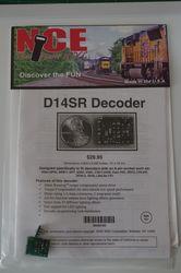 NCE D-14SR HO  Decoder 6 function