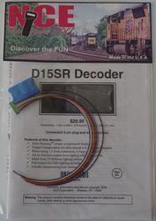 NCE D-15SR HO  Decoder 6 function