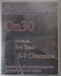 NMRA-ON30 Track Gauge