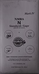 NMRA N Scale Track Gauge