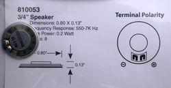 STX 810053 20mm round speaker 2
