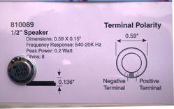 STX 810089 15mm round speaker 3