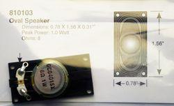STX 810103 40mm x 20mm oval speaker 2