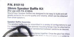 STX 810110 26mm Baffle Kit 3