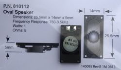 STX 810112 255 mm Oval Speaker 3