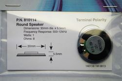 STX 810114 30mm round speaker 2
