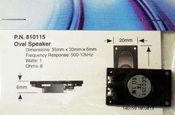 STX 810115 35mm x 20mm oval speaker 3