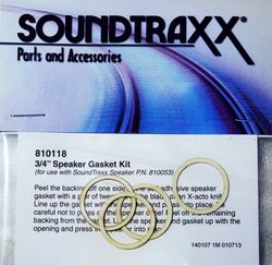Gasket Kit Speaker 20mm (0.79') (pkg. of 4)