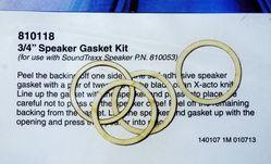 STX 810118 Gasket kit speaker 20mm Pkg of 4 2