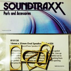 STX 810138  Gasket kit speaker 35mm x 16mm  Pkg of 4