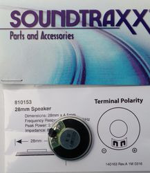 STX 810153 28mm round speaker 2 watt 8 ohm