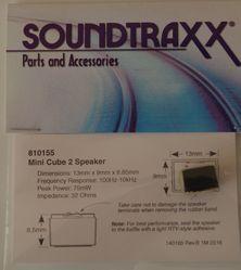 Speaker 13mm X 9mm X 8.5mm MiniCube2