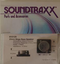 Speaker 23mm square x 10.2mm (d) 8-ohm Mega bass speaker