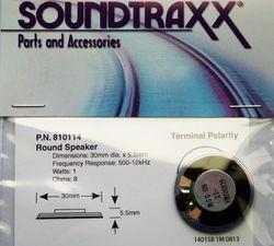 Speaker Round, 8-ohm speaker- 30mm (1.2')