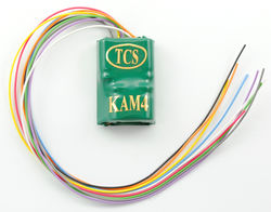 KAM4 4 function, hardwire decoder with a built in Keep-Alive™.