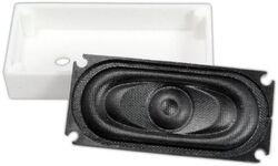 TCS:1704 UNIV-SH1-C Universal Speaker housing for 35mm x 16mm oval speaker inclu