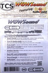 WOW101-Steam-KA Steam sound with Keep Alive device